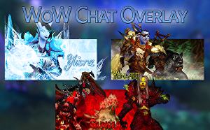 I will design a World of Warcraft chat overlay for Twitch