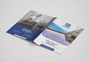 I will design professional print ready brochure