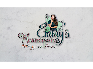 I will design feminine logo or watercolor logo for you with 3 samples to choose from