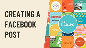 I will create 50 canva posts for your social media channels