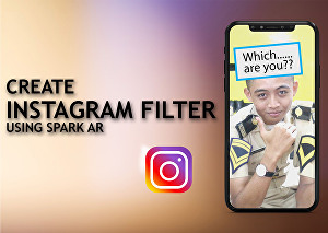 I will create random selector filter for your instagram
