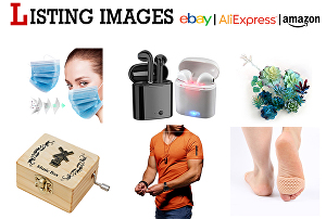 I will design professional amazon and ebay product listing images