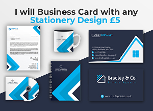 I will Awesome business card & stationery design