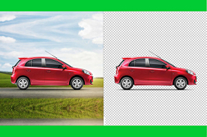 I will remove background and retouch images