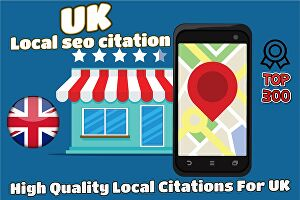I will do 100 top UK local citations
