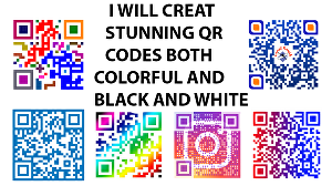 I will create stunning qr codes both colorful and black and white