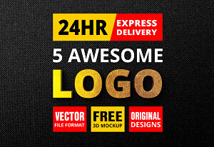 I will design professional business logo with unlimited revisions
