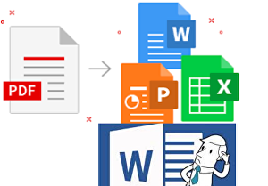 I will Convert PDF to WORD & image to word or PDF