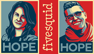 I will Create Obama style Hope poster from your photos