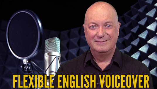record a professional deep British voiceover - per 50 words
