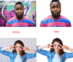 I will remove background and retouching of any images or photos