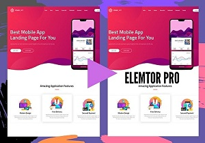 I will Convert Any Psd, Clone Any Web Page Into Elementor Template