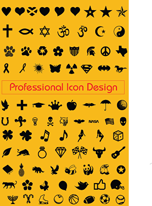 I will design unique, simple and modern custom icons set
