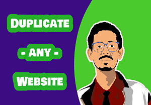 I will duplicate any website into WordPress website