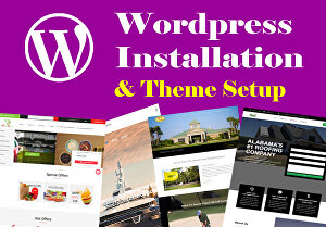 I will install and Setup a WordPress theme website