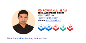I will design a clickable email signature to represent yourself or your company branding