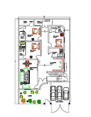 I will do architectural floor plan in auto cad 2d and 3d drawing