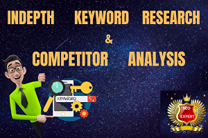 I will do in-depth Keyword Research & Competitor Analysis