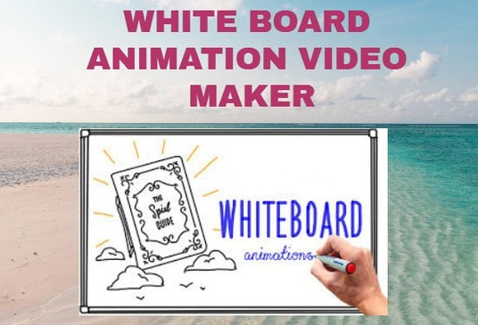 create whiteboard animation 2d explainer video for you