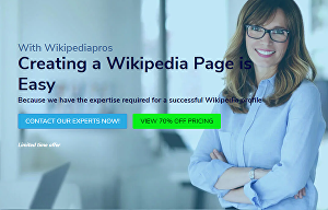 I will create and edit wikipedia page