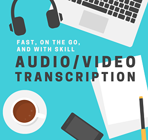 I will Transcribe English audio and video to text