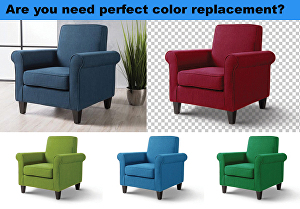 I will do  photo color correction and color replacement