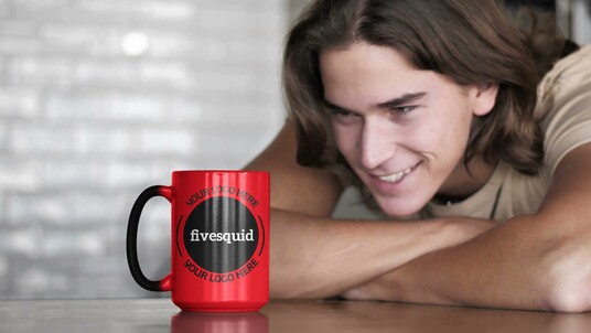 place your logo on different mugs