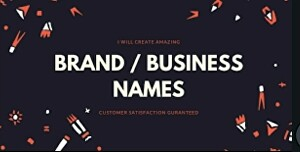 I will Create best business name