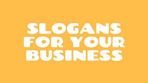 I will create slogans and taglines for your business