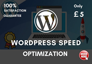 I will do WordPress website speed optimization, increase page speed