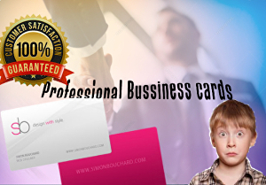 I will create professional and attractive business cards