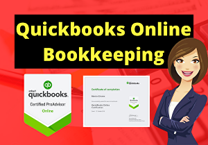 I will do Bookkeeping using Quickbooks Online
