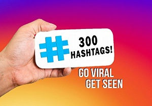 I will research and find 300 niche hashtags to grow your instagram