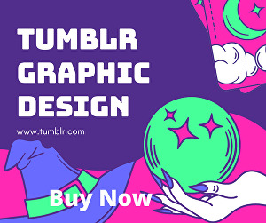 I will design Tumblr graphics for you