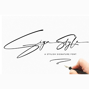 I will do clean minimal or signature logo, handwritten or text in 24hrs