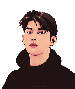 I will draw cartoon portrait from your photo