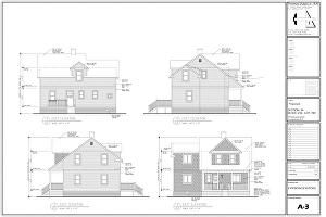 I will draw architectural blue prints or blueprint for permit