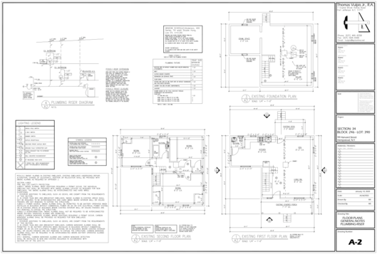 draw architectural blue prints or blueprint for permit