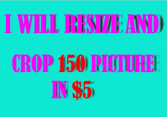 crop and resize images, logo in jpg, png format
