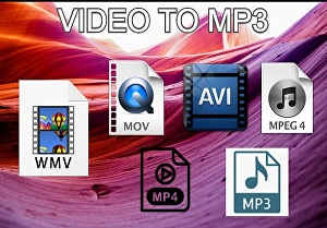 I will convert video to mp3 file format
