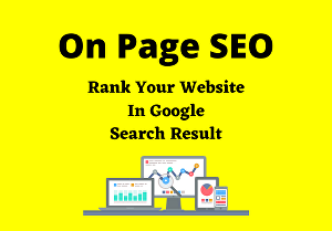 I will do On Page SEO For Rank On Google