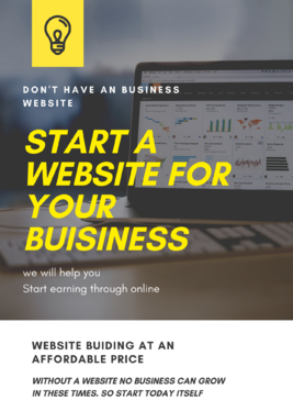 Create a website for you