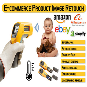 I will edit amazon, eBay, aliexpress product pictures and background remove