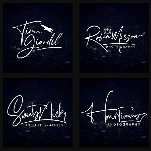 I will design modern luxury signature logo