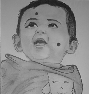 I will draw realistic drawings of you and your loved ones