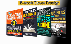 I will design your E-book cover