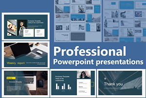 I will prepare or improve professional power point presentations and slides