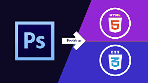 I will convert PSD to HTML responsive using bootstrap