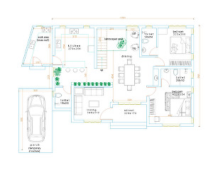 I will Draw Floor plans and interior Designing layouts in Auto Cad