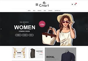I will design an eCommerce website for your store